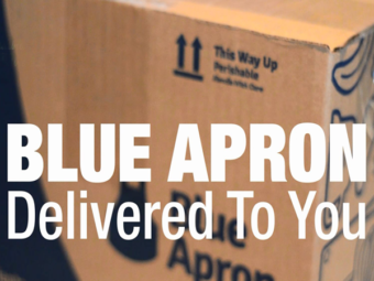 Blue Apron – Delivered To You