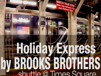 Holiday Express – shuttle @ Times Square