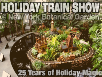 Holiday Train Show @ NYBG – Celebrating 25 Years of Holiday Magic