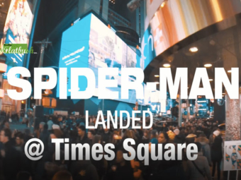 Times Square Spider-Man